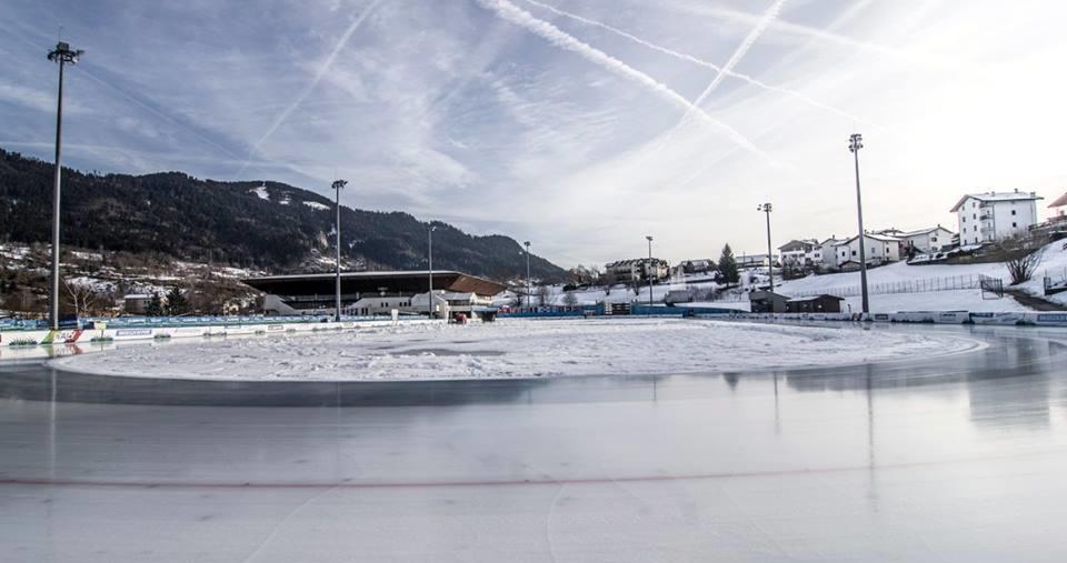 ICE RINK PINÉ: APERTURA ANELLO 400M E STAGIONE INVERNALE - FI