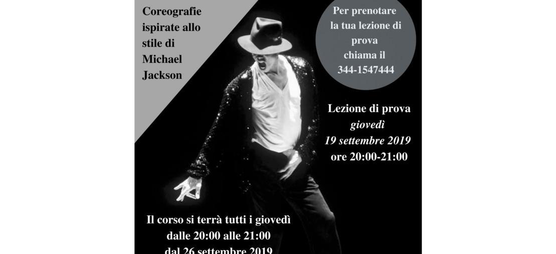 Corso di Danza Moderna per adulti - coreografie ispirate allo stile di Michael Jackson - FI