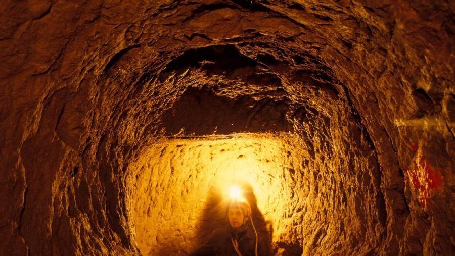 La canopa delle acque, speleo avventura nella miniera medievale - FI