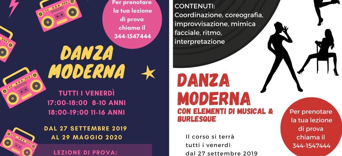 Corso Danza Moderna (per bambini e ragazzi) + Corso Danza Moderna per adulti (con elementi di musical e burlesque) - FI