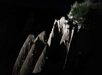 Tra le Piramidi di notte - I1