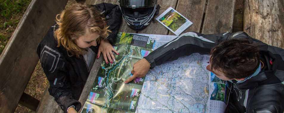 Karten und Routen