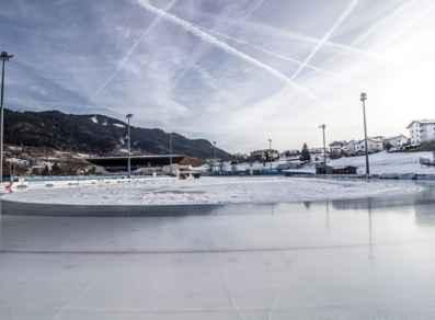 ICE RINK PINÉ: APERTURA ANELLO 400M E STAGIONE INVERNALE - EH5