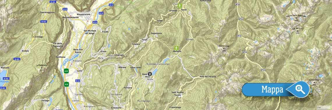Outdooractive Pine Cembra Trentino
