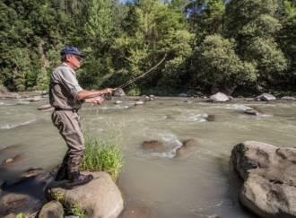 Pesca sul torrente Avisio - G1