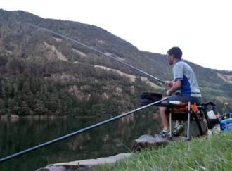 Pesca nel lago di Lases - G1