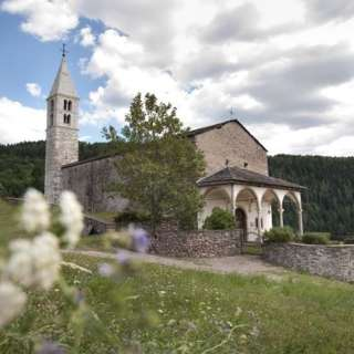 The ancient parish church of Santa Maria Assunta in Baselga di Piné - P1
